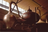 French Cognac must be distilled twice in copper pot stills, also called alembic.