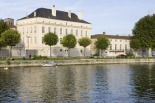 The House of HINE stands on the banks of the River Charente, deep in Cognac country. In the ancient cellars behind, little has changed in 250 years. Always locked, they protect the finest vintages. This is one of the oldest houses in Jarnac, and has always been the company's headquarters.