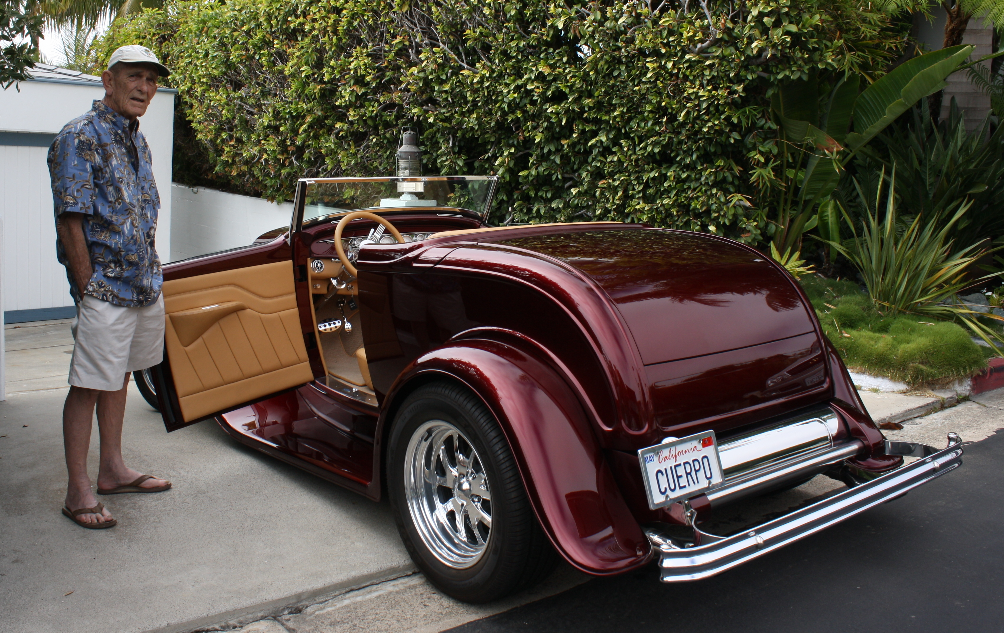 Cognac And Hot Rods: One-Of-A-Kind 1932 Ford Cabriolet Deuce ...