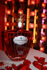 A harmonious blend of eighty eaux-de-vie from the four best terroirs of the Cognac region selected for character and softness. Aged for between 20 and 30 years in red Limousin oak casks. The result of this superior blend is a limited production authentic cognac XO. First wave of aromas and flavors offers a dense fruity overtone of orange and passion fruit. Subtle almond bouquet also has floral overtones of wild roses and violets. Then, it evolves into more concentrated notes of chocolate and coffee, melting into a mocha theme. Rich and concentrated, with superb balance dominated by buttery vanilla and chocolate with hints of sweet leather notes.