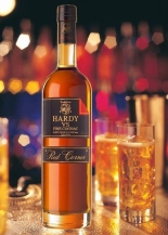 A traditional cognac with nice heft and body to it. Hardy is aged a minimum of five years and is ridiculously smooth for a $27 bottle. It tends to be on the sweet side, but just manages to balance the mix out with a rich warmth.