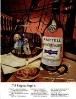 Martell Cognac New York Magazine 1973