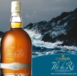 Camus Ile de Ré Fine Island Cognac is a range of Cognacs where roundness and finesse are said to blend with a tangy marine character. From the vineyards of the Ile de Ré, the most westerly in the AOC, these single growth Cognacs develop unusual aromas and flavours thanks to the unique climate on the island. The iodine-laden air gives a natural, salty tang, resulting in a dry Cognac but with fruity notes.