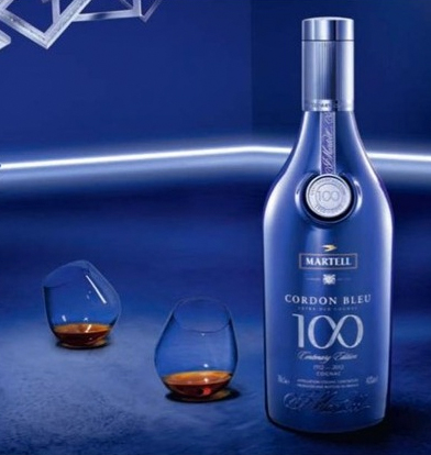 Cordon Bleu 100th Anniversary in Monaco 2012 Blue Bottle
