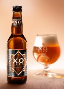 XO Beer Bottle with Cognac XO Blending