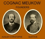 Cognac Meukow Founders Brothers 1862