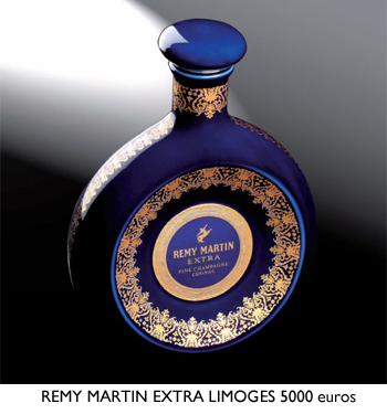 Remy Martin Extra in Limoges Bottle