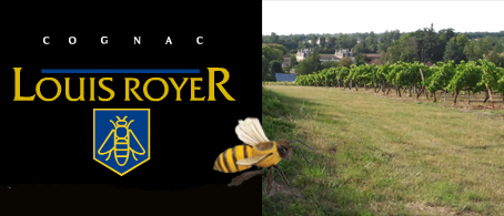 Cognac Louis Royer Happy Bee Going to the Vineyards