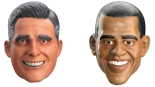Obama Romney Masks
