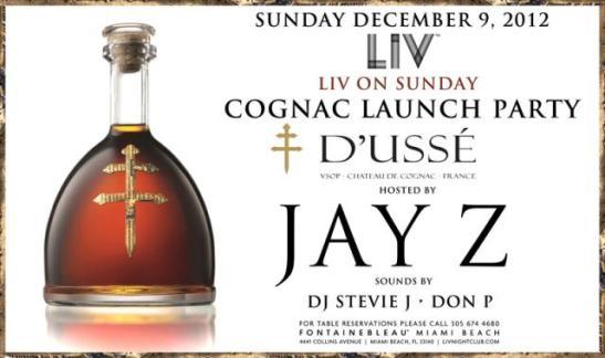 Cognac D'Usse by Jay-Z