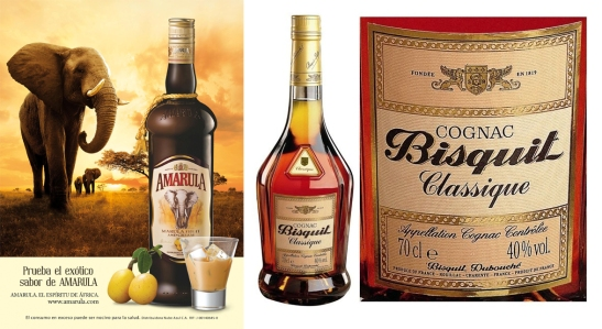 Amarula Cream and Cognac Bisquit from South African Spirit Company Distell