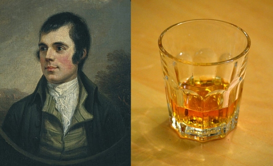 Robert Burns and Scotch