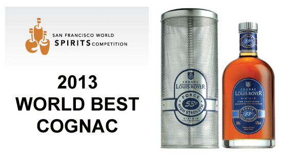 2013 World Best Cognac, Louis-Royer VSOP Force 53