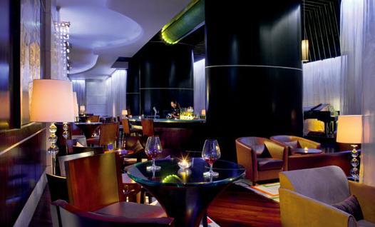 Portman Bar in the Ritz-Carlton in Shangai