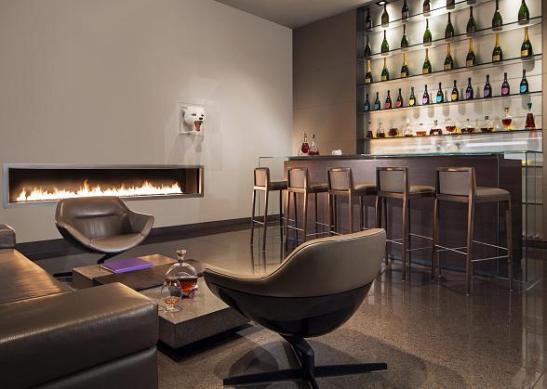 Guy Savoy Cognac Lounge at the Caesar Palace in Las Vegas