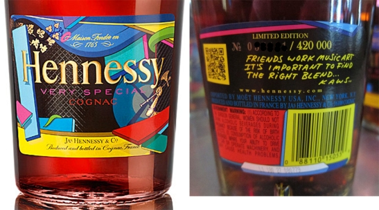 Hennessy Cognac VS by Kaws