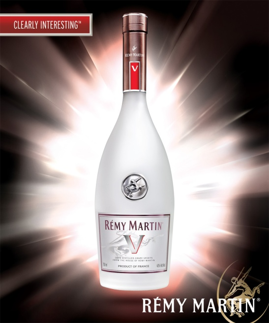 Remy Martin V, unaged grape spirit