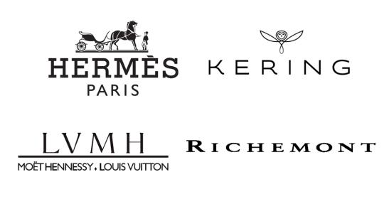 Luxury Groups, Hermes, Kering, LVMH, Richemont