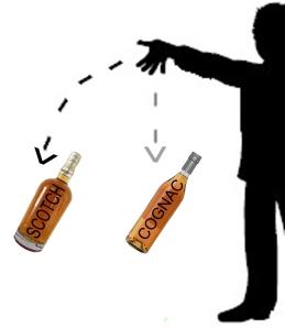 Cognac and Scotch Sales Decline