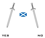 Scotland Yes and No Vote