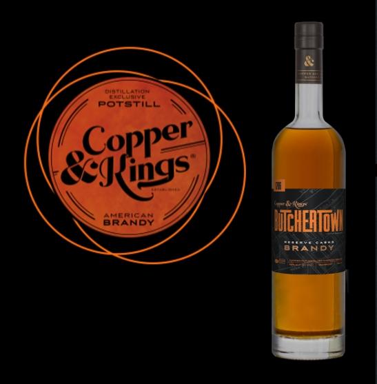 Copper & Kings Brandy, Made in USA, Kentucky