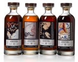 Karuizawa - Toulouse Lautrec series (4 bottles). Photo: Bonhams.