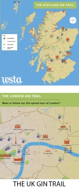 UK, Scotland, London Gin Trail