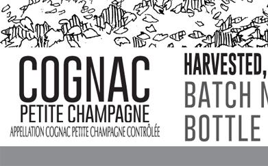 Petite Champagne Cognac, Partial Label