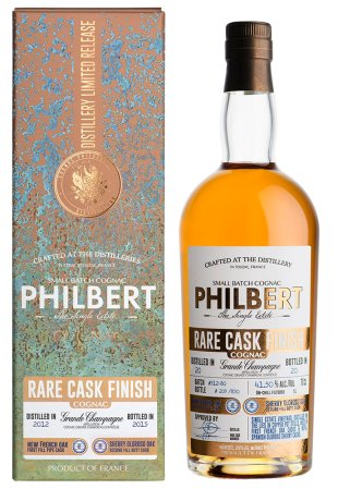Cognac Philbert 2012 Grande Champagne finished in Oloroso Sherry Cask