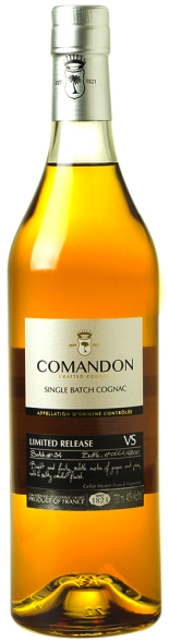 Comandon Cognac VS, Single Batch for 2016