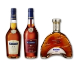 Martell VS Fine Cognac, Martell Medallion VSOP, and Martell XO in stores now. Limited quantities of even higher marques will be available in Ontario and Alberta by Fall 2016. Product selection will vary by province. (CNW Group/Corby Spirit and Wine Communications)