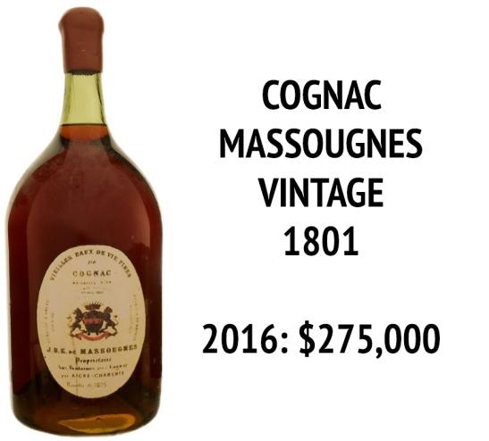 Cognac Massougnes 1801