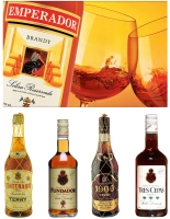 Emperador Brandy and Fundador Brandy