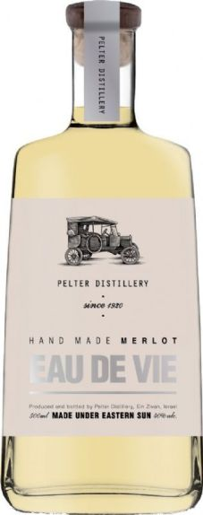 Pelter Distillery makes Single Grape Brandy of Merlot in Israel