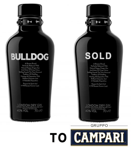 Bulldog Gin Sold to Gruppo Campari February 2017