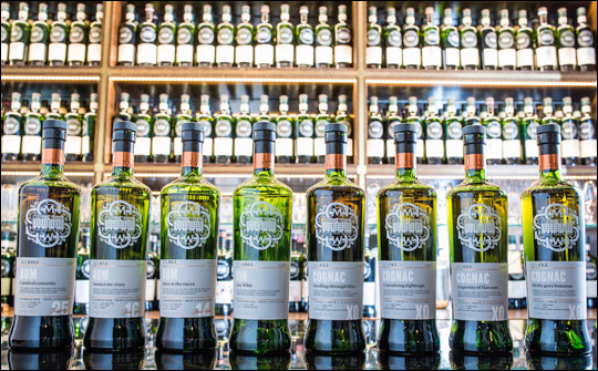 SMWS Single Cask Spirits, Cognac Selection of Single Casks