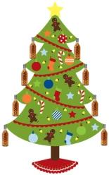 Cognac Christmas Tree