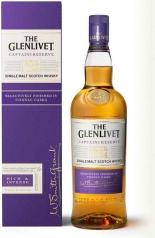 The Glenlivet Scotch Whisky Captain's Reserve Ex-Cognac Cask Finish